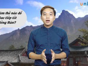 Tiếng Hàn giao tiếp dễ như nhai kẹo