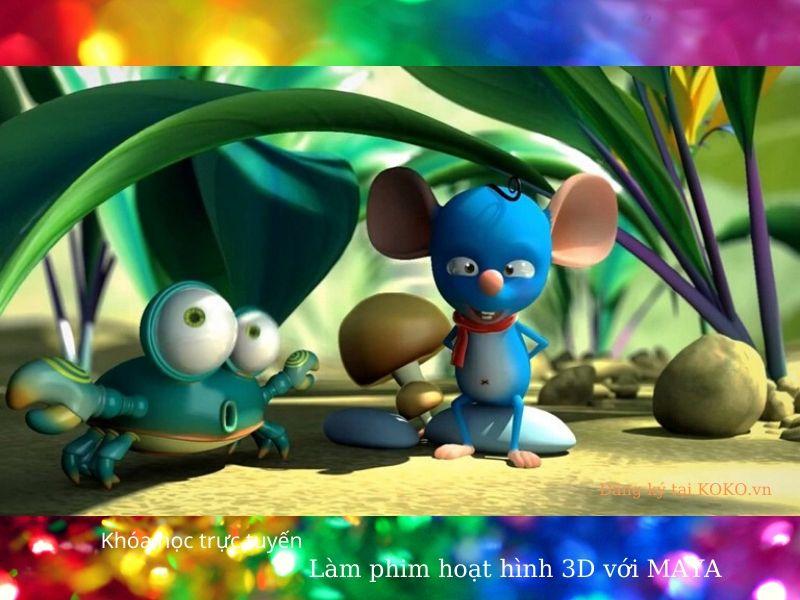 khóa học trực tuyến: Làm phim hoạt hình 3D với MAYA