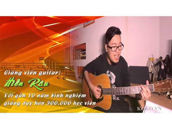 Guitar đệm hát 30 ngày
