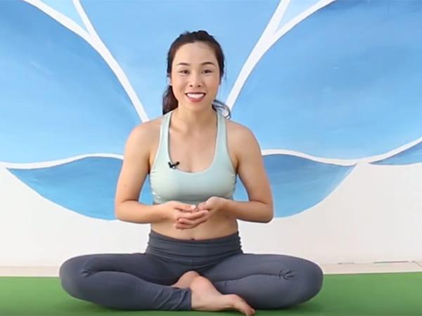 Yoga bầu mẹ khỏe