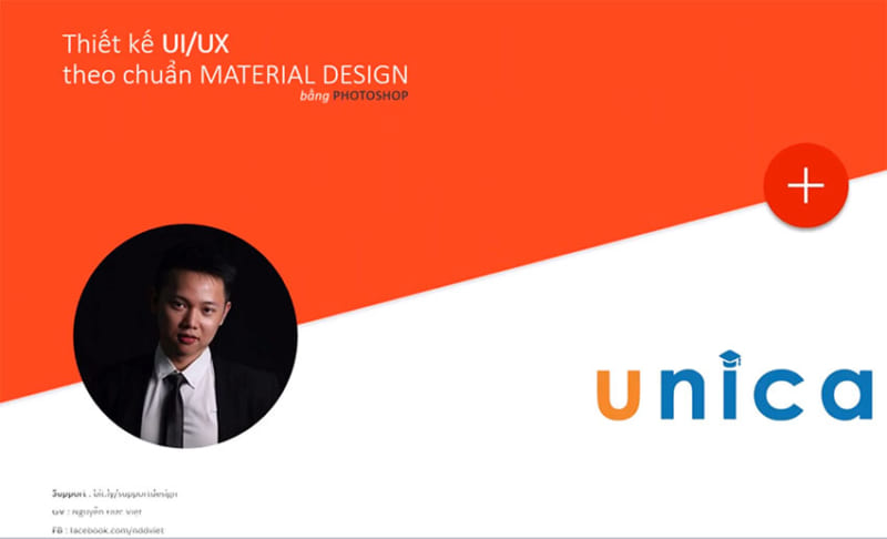 Thiết kế ứng dụng IOS, Android theo chuẩn MATERIAL DESIGN bằng Photoshop