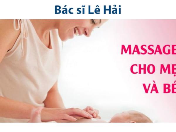 Massage mẹ và bé - quà tặng yêu thương