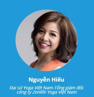 Đại sứ Yoga Nguyễn Hiếu
