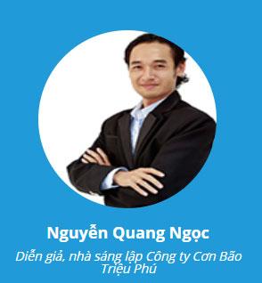 giảng viên Nguyễn Quang Ngọc