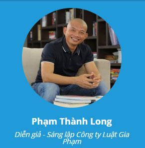 Diễn giả Phạm Thành Long