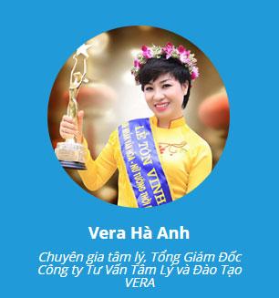 giảng viên Vera Hà Anh
