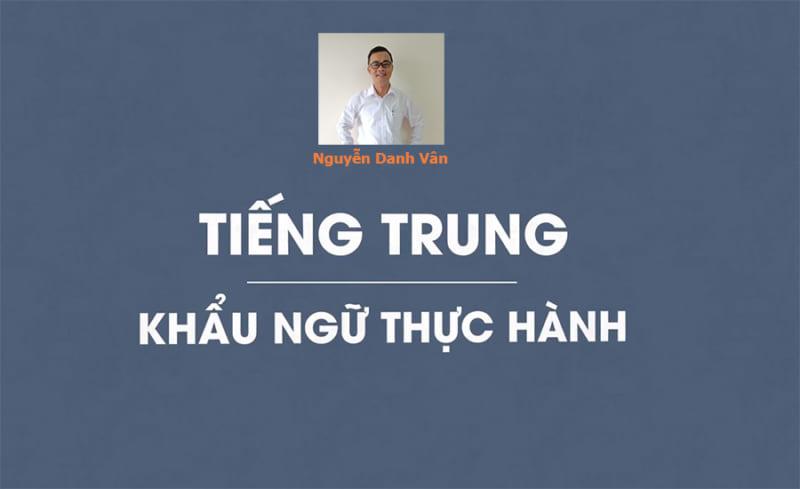 Tiếng Trung khẩu ngữ thực hành