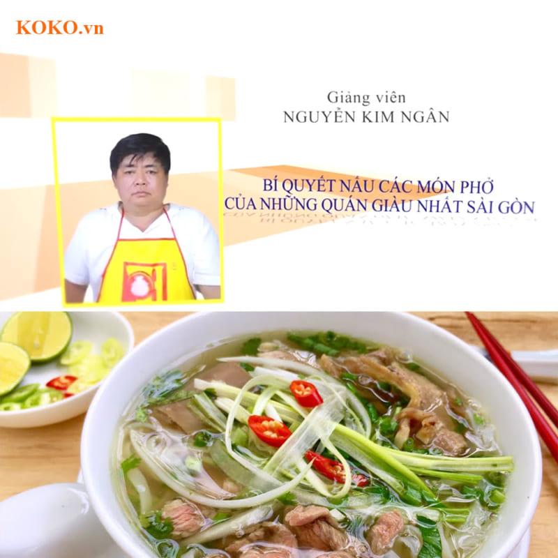 Bí quyết nấu các món phở của những quán giàu nhất Sài Gòn