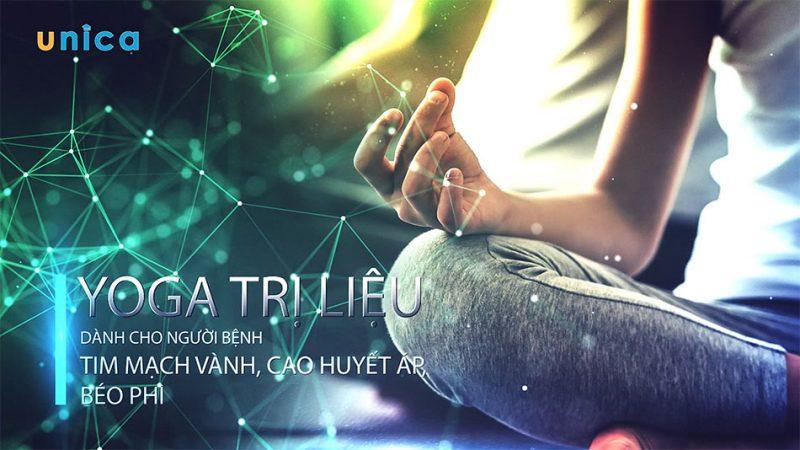 Yoga trị liệu dành cho người bệnh Tim mạch vành, cao huyết áp, béo phì