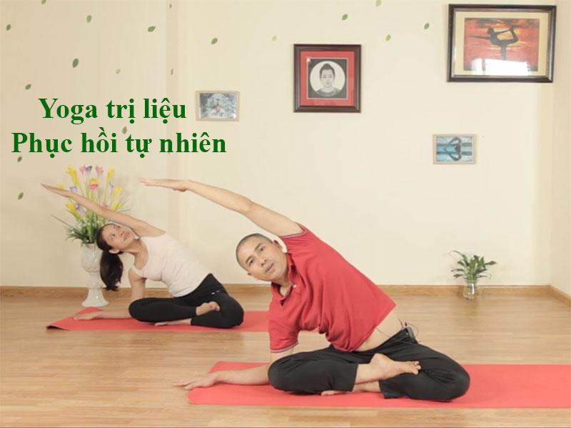 Yoga trị liệu - phục hồi tự nhiên