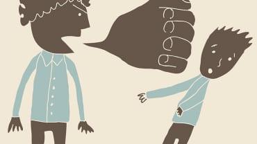 Bạo lực ngôn ngữ làm thay đổi cấu trúc não trẻ khiến trẻ kém thông minh