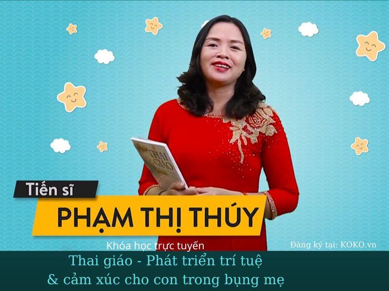 Thai giáo - Phát triển trí tuệ & cảm xúc cho con trong bụng mẹ - khóa học trực tuyến